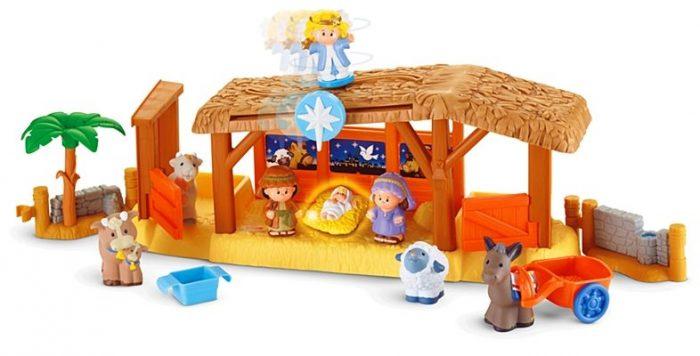 little-people-nativity-playset