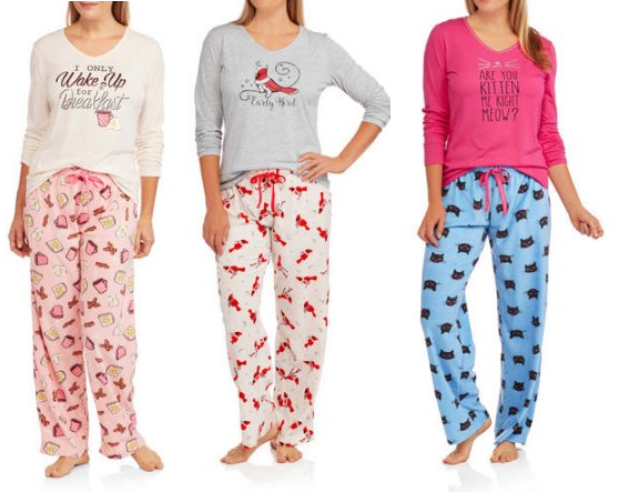 womens-knit-sleep-top-and-microfleece-sleep-pant-2-piece-sleepwear-set