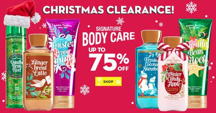 Bath & Body Works HUGE Christmas Clearance Sale! Plus $10 off $40 Code! 3-Wick Candles $8.66 Shipped, Wallflower Refills & Hand Soaps Only $2.71 Shipped!
