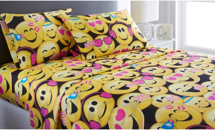 Full Emoji Bedding
