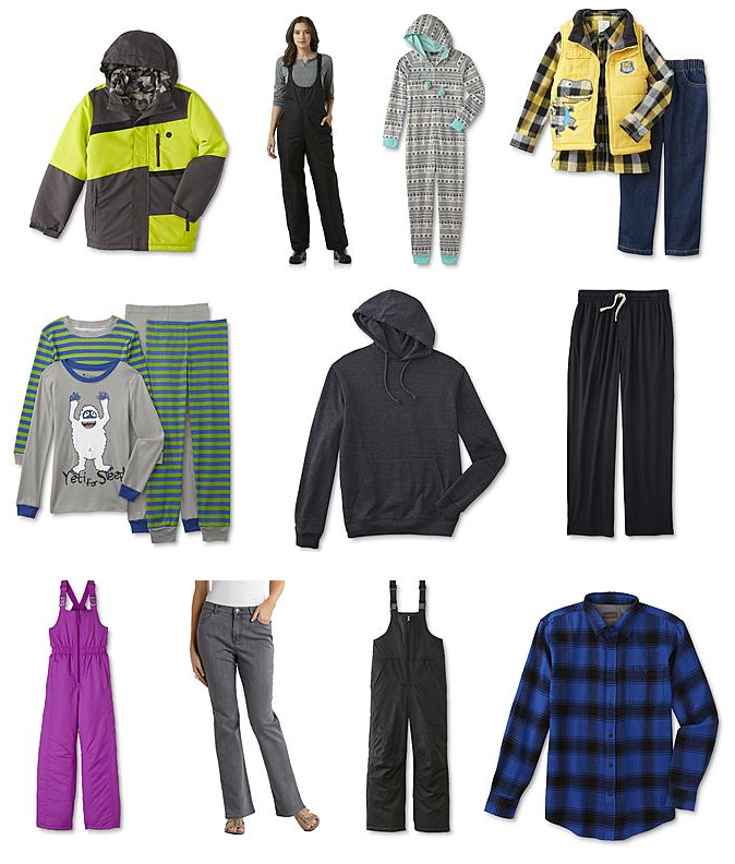 2303a46385 Buy One Get One FREE Winter Clothing! Includes Jeans, Snow Pants, Pajamas,  Coats, Hoodies, More!!