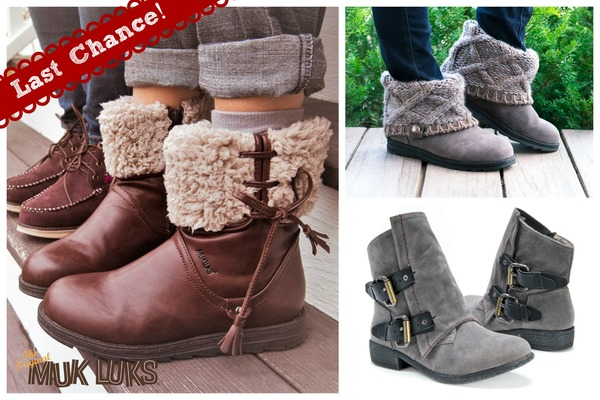 muk-luks-ankle-boots