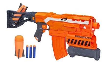 What every kid wants for Christmas! Why not get it now while it's on sale,  today only, on Amazon. Score 50% off Nerf guns + FREE Prime shipping!