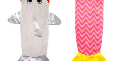 shark-mermaid-blankets