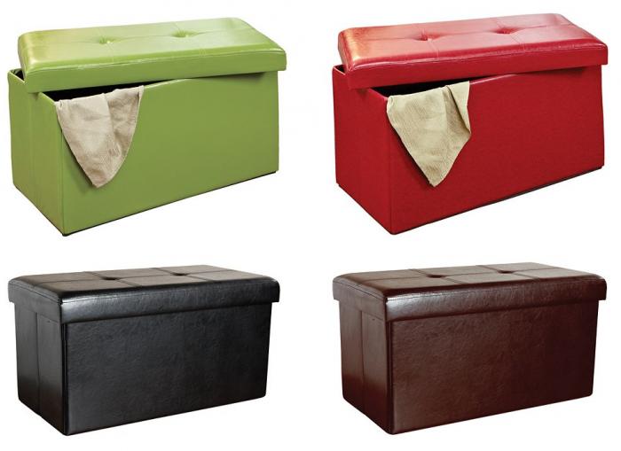 Kennedy Home Collection 16u2033 x 30u2033 Folding Storage Ottoman for $33.59 (Reg $99.99)! Smaller Size for $18.47 (Reg $54.99)!  sc 1 st  Utah Sweet Savings & Kennedy Home Collection 16u2033 x 30u2033 Folding Storage Ottoman for $33.59 ...