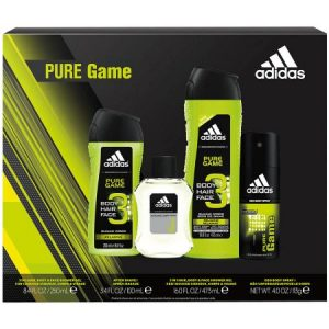 detailed look 99c0b 4837c Grab this adidas Pure Game Men s Bath Gift Set for only  7.48! This makes a  great gift for your teen!