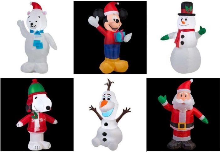 Christmas Yard Inflatables From $4.99! Plus 75% Off More