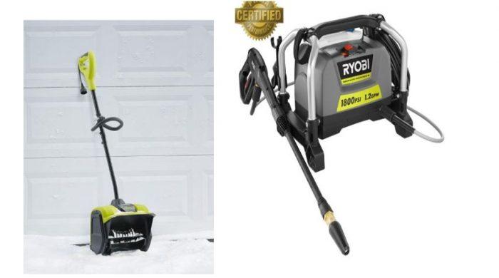 Ryobi Snow Shovel $65! Pressure Washer for $99 Plus MORE