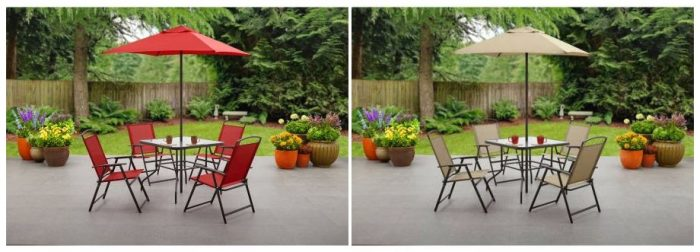 This Is Such A Cute Patio Set, And A Great Price For All That It Includes!