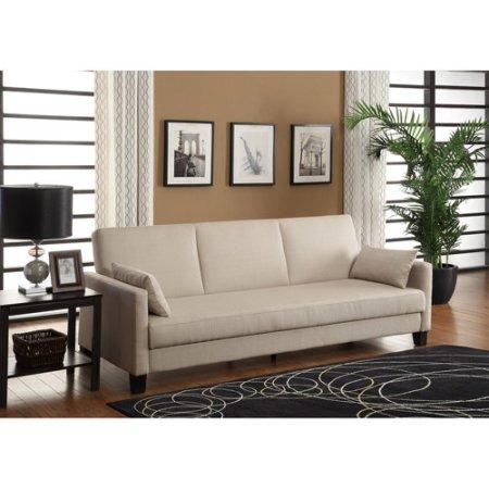 Linen Sofa Sleeper only $189 00 regularly $249 23 Free Freight Shipping – Utah Sweet Savings