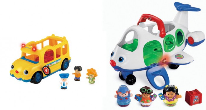 Fisher-Price Little People Lil\' Movers School Bus or Lil\' Movers ...