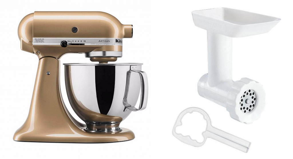 KitchenAid Artisan Gold Shimmer 5-qt. Stand Mixer for ...