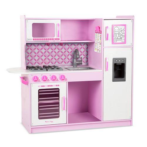 Melissa Doug Chef S Play Kitchen For 118 99 Reg 199 Get 20 Kohl Cash Plus More Let House Sets