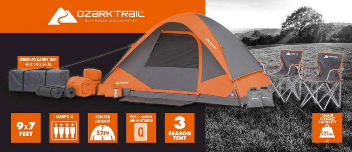 Ozark Trail 22 piece C&ing Combo Set only $99.00!! Free Shipping & Ozark Trail 22 piece Camping Combo Set only $99.00!! Free Shipping ...