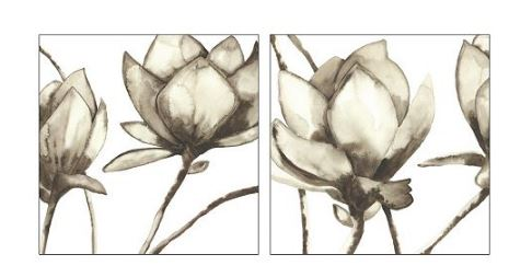Trend Floral Canvas Wall Art piece Set on sale for regularly