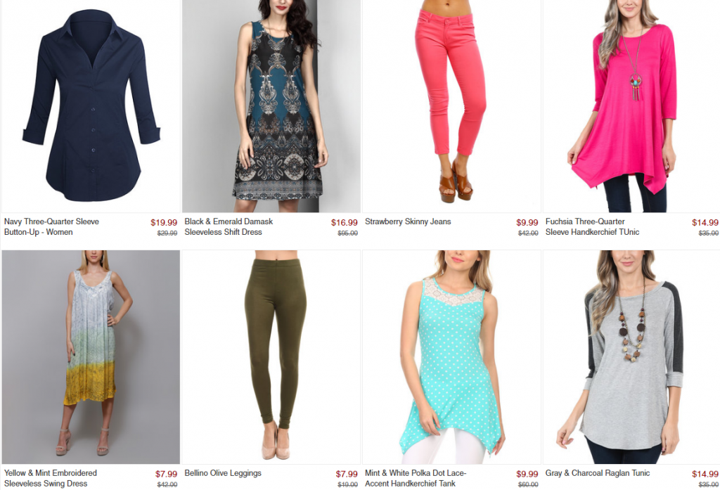 4de1f81e81adbc Women s Clothing up to 80% off! Starting at only  7.99 + Free Shipping!