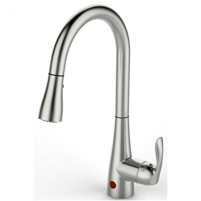 Flow Series Single Handle Pull Down Sprayer Kitchen Faucet With Motion Sensor