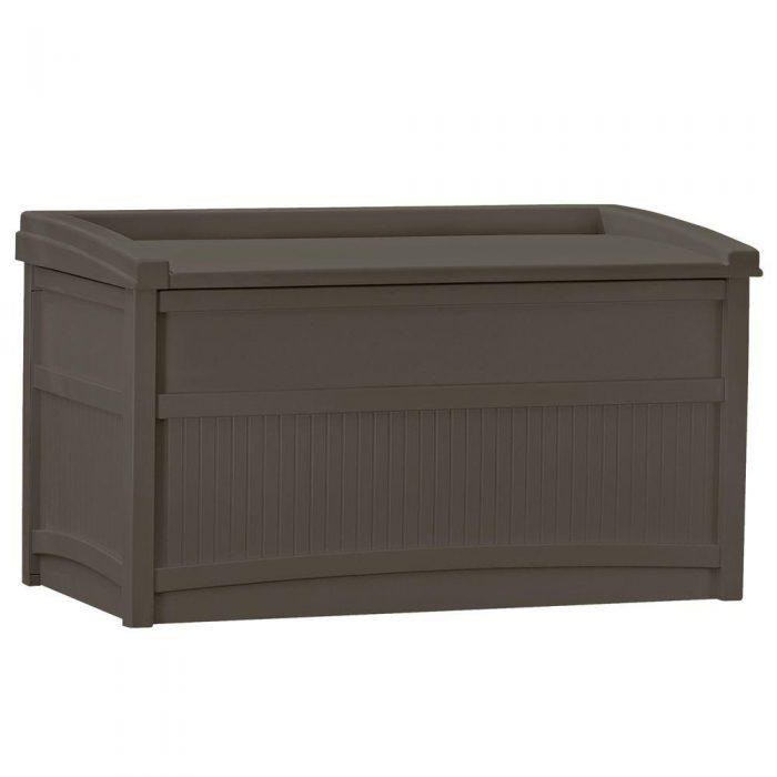 50 Gal Resin Deck Box Only Regularly Free
