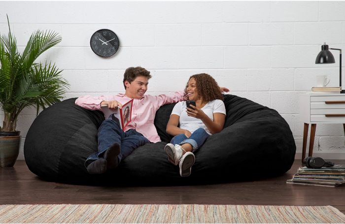 Pleasing Big Joe Xl Fuf Bean Bag Chair For 73 33 Reg 169 99 Inzonedesignstudio Interior Chair Design Inzonedesignstudiocom