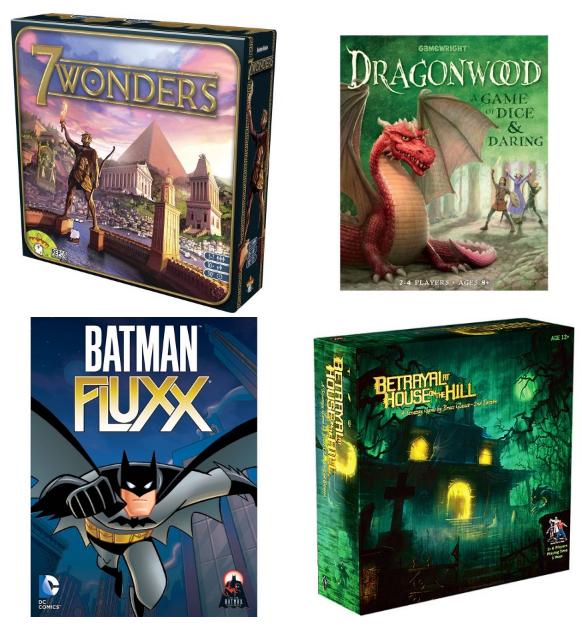 big savings on board games 7 wonders dragonwood betrayal at