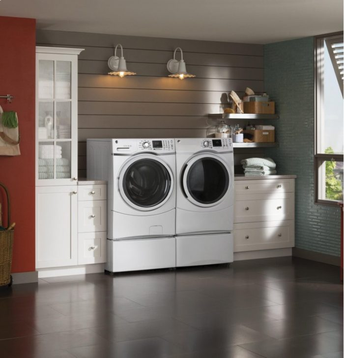 Ge Front Load Steam Washer Or Dryer For 598 50 Each Free Delivery Reg 999 00