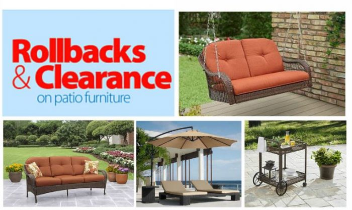 Walmart: Patio Furniture Clearance! 70% Off.