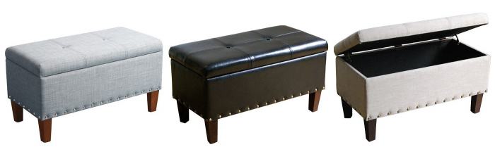 Superb Sonoma Goods For Life Madison Storage Bench Ottoman For Ncnpc Chair Design For Home Ncnpcorg