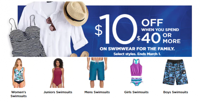 01fb1697c63 There is a HOT new code over at Kohl's on swimwear for the entire family!  This is a great time to use your Kohl's Cash that you earned during the  last sale.