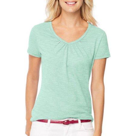 e83e7e6b813b Walmart Women s Summer Clothing Clearance  Tees-  3.28