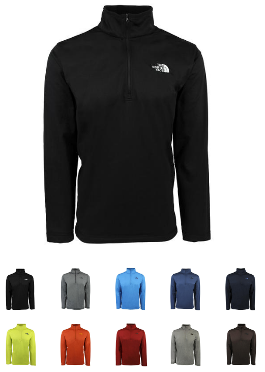 9ead54896e15 Use code PZY36 to get this nice The North Face Men's Tech Glacier 1/4 Zip  Fleece Jacket for $36 (regularly $65)! They're available in a variety of  colors in ...
