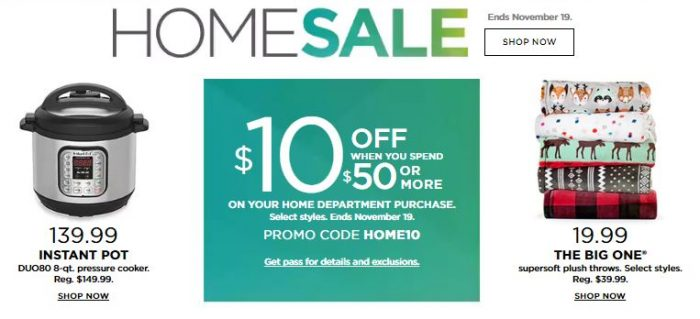 Fancy Kohl us Home Sale of a Purchase off and Free Shipping with your Kohl us Card
