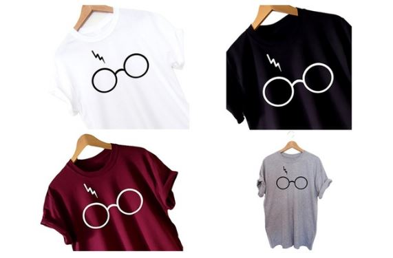 3f73111ab Women's Harry Potter Glasses T-shirt S-3XL $8.89 (regularly $30 ...