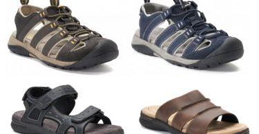 b4548ae60f1 Croft   Barrow Men s Sandals  11.66 (reg  59.99) + Free Shipping!  5 Styles