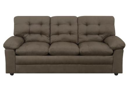 This Would Be The Perfect Sofa For A College Dorm, Newlyweds, Playroom Or  Basement!! Microfiber Tufted ...