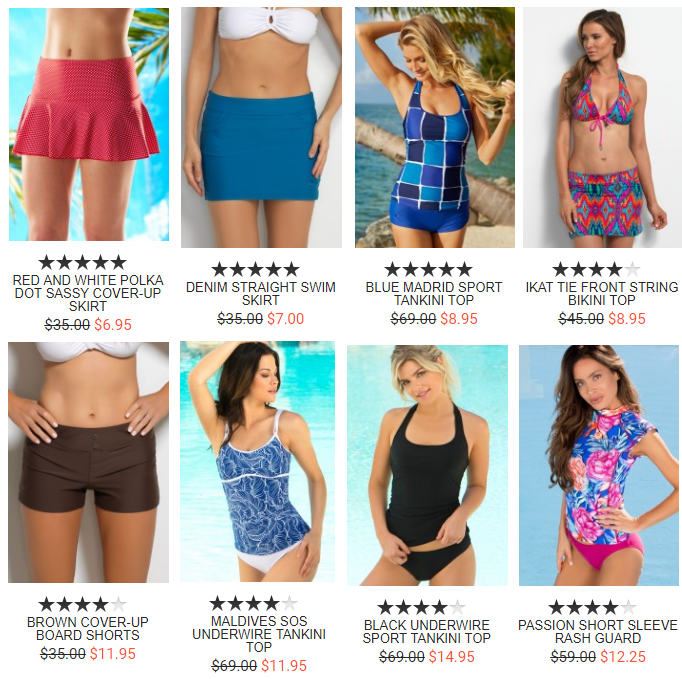 41db06c069f Hapari up to 75% Off End of Summer Clearance! Tankinis & Swim ...