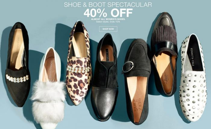 off Shoe and Boot Spectacular Sale