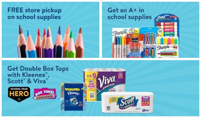 One Stop Online Shopping for School Supplies at Walmart com