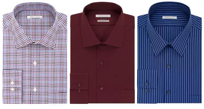 Big tall van heusen flex collar dress shirt for for Van heusen shirts flex collar