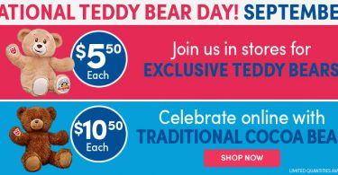 bc0b98b7a20b3 Build-A-Bear Traditional Cocoa Bear for $10.50 Online or Exclusive Teddy  Bear $5.50 In Store!
