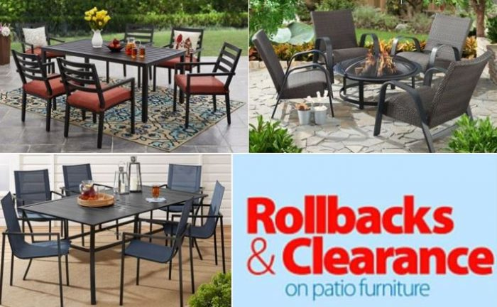 Patio Furniture Clearance 50