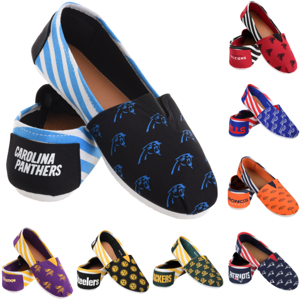 ea5c1580275efd NFL Football Team Canvas Shoes for only  15.99 Shipped (Reg.  25 ...