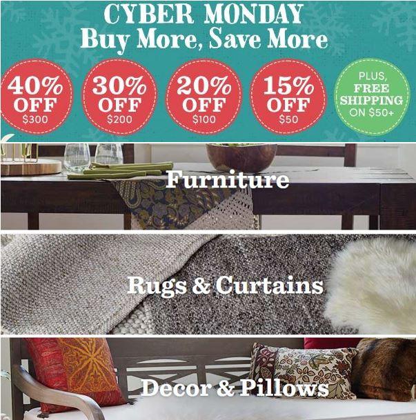 World Market Cyber Monday Sale 40 Off Furniture Free Shipping On 50 Utah Sweet Savings