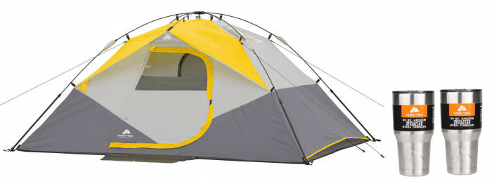 Ozark Trail 9u2032 x 7u2032 x 48u2033 Instant Dome Tent with 2 30oz Tumblers Value Bundle for $29.41!  sc 1 st  Utah Sweet Savings & Ozark Trail 9u2032 x 7u2032 x 48u2033 Instant Dome Tent with 2 30oz Tumblers ...