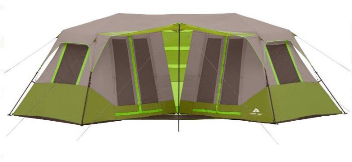 The Ozark Trail 23u2032 x 11u00276u2033 Instant Double Villa Cabin Tent Sleeps 8 is also down to just $74.97 (regularly $109) in both orange and green.  sc 1 st  Utah Sweet Savings & Ozark Trail 8-Person Family Tents from $44.97! u2013 Utah Sweet Savings