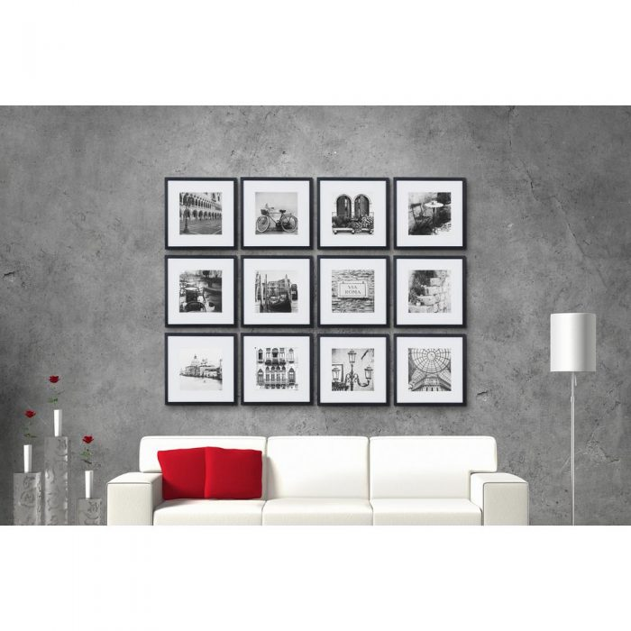Today Only* Set of 12 8″x8″ Gallery Wall Picture Frames for $74.98 ...