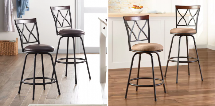 Tremendous Sonoma Goods For Life Shelton Adjustable Swivel Stool 2 Andrewgaddart Wooden Chair Designs For Living Room Andrewgaddartcom