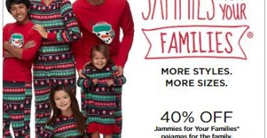 matching family christmas pajamas for 40 off plus stack 20 off code earn kohls cash