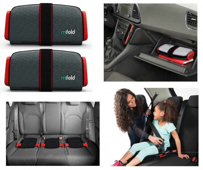 Mifold Grab And Go Car Booster Seat Pack Of 2 For 64 99