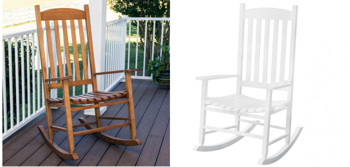Outdoor Rocking Chair 77 Regularly