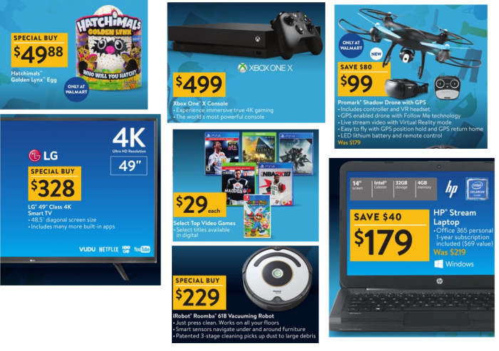 Walmart Black Friday Ad 2017 Utah Sweet Savings
